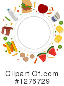 Royalty-Free (RF) Nutrition Clipart Illustration #1276729
