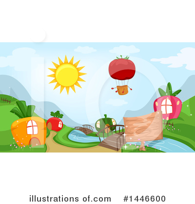 Village Clipart #1446600 by BNP Design Studio
