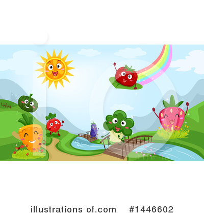 Village Clipart #1446602 by BNP Design Studio