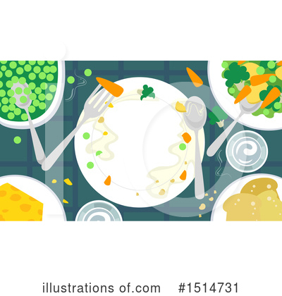 Table Clipart #1514731 by BNP Design Studio