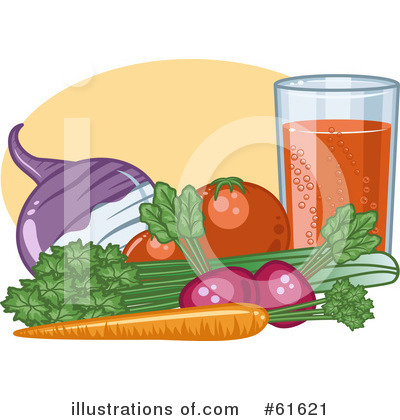 Royalty-Free (RF) Nutrition Clipart Illustration by r formidable - Stock Sample #61621