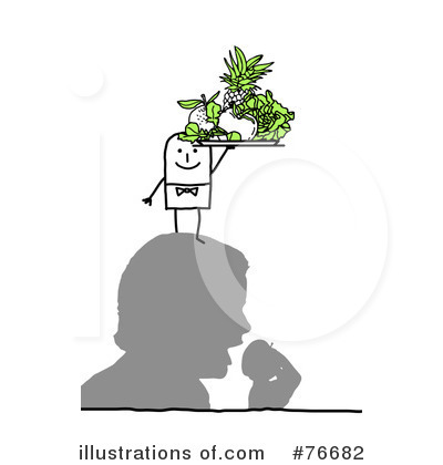 Royalty-Free (RF) Nutrition Clipart Illustration by NL shop - Stock Sample #76682