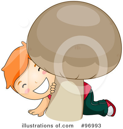 Mushroom Clipart #96993 by BNP Design Studio
