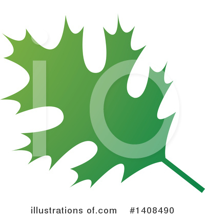 Leaf Clipart #1408490 by Lal Perera