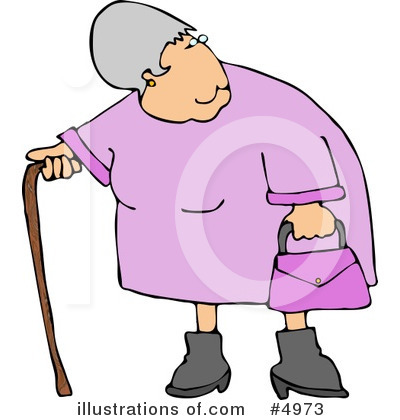 Old People Clipart #4973 by djart