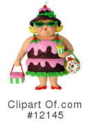 Obesity Clipart #12145 by Amy Vangsgard