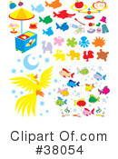 Royalty-Free (RF) Objects Clipart Illustration #38054