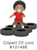 Royalty-Free (RF) Obstacle Course Clipart Illustration #101486