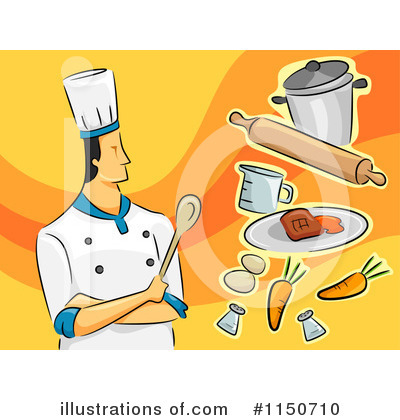 Chef Clipart #1150710 by BNP Design Studio