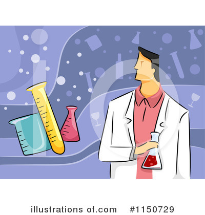 Scientist Clipart #1150729 by BNP Design Studio