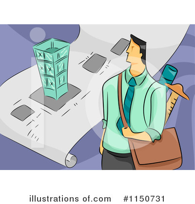 Architect Clipart #1150731 by BNP Design Studio