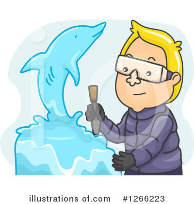 Dolphin Clipart #1266223 by BNP Design Studio