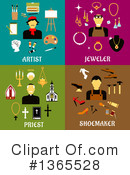 Occupation Clipart #1365528 by Vector Tradition SM