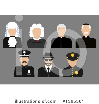 Royalty-Free (RF) Occupation Clipart Illustration by Vector Tradition SM - Stock Sample #1365561