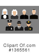 Royalty-Free (RF) Occupation Clipart Illustration #1365561