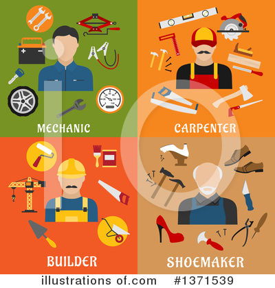 Mechanic Clipart #1371539 by Vector Tradition SM