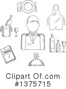 Royalty-Free (RF) Occupation Clipart Illustration #1375715