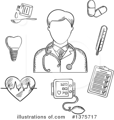 Ecg Clipart #1375717 by Vector Tradition SM