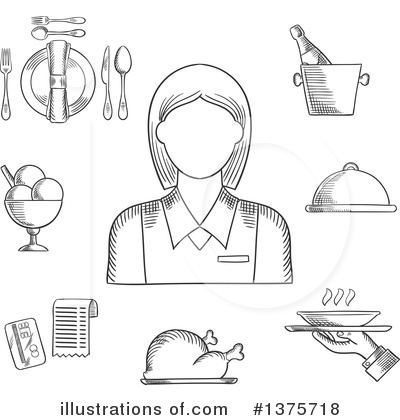 Wine Clipart #1375718 by Vector Tradition SM