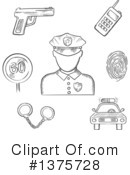 Royalty-Free (RF) Occupation Clipart Illustration #1375728