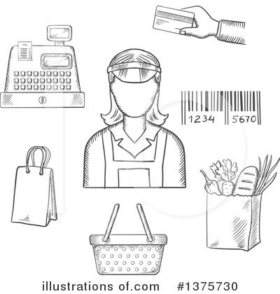 Royalty-Free (RF) Occupation Clipart Illustration by Vector Tradition SM - Stock Sample #1375730