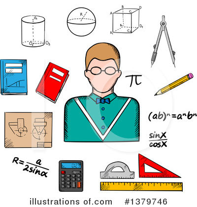 Algebra Clipart #1379746 by Vector Tradition SM