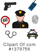 Royalty-Free (RF) Occupation Clipart Illustration #1379756
