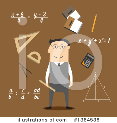 Algebra Clipart #1384538 by Vector Tradition SM