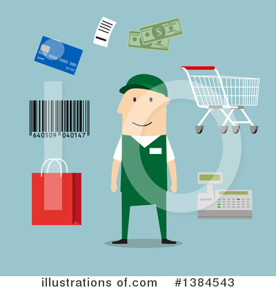 Credit Card Clipart #1384543 by Vector Tradition SM