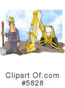 Royalty-Free (RF) occupation Clipart Illustration #5828