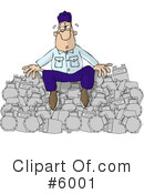Royalty-Free (RF) Occupation Clipart Illustration #6001