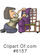 Royalty-Free (RF) occupation Clipart Illustration #6157