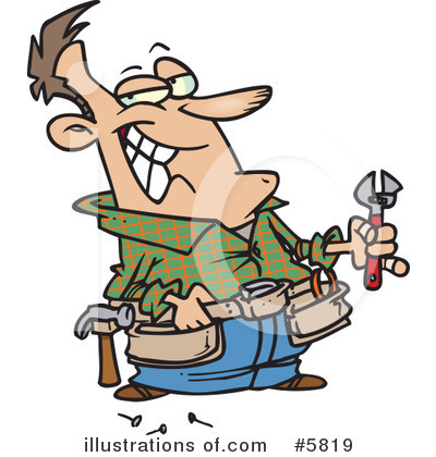 Repairs Clipart #5819 by toonaday