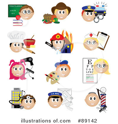 Royalty-Free (RF) Occupations Clipart Illustration by Pams Clipart - Stock Sample #89142