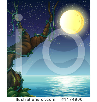 Moon Clipart #1174900 by Graphics RF