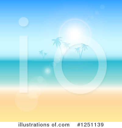 Beach Clipart #1251139 by KJ Pargeter