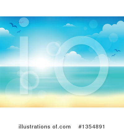 Beach Clipart #1354891 by visekart