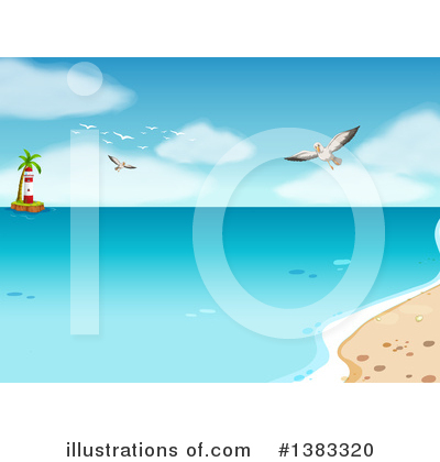 Beach Clipart #1383320 by Graphics RF