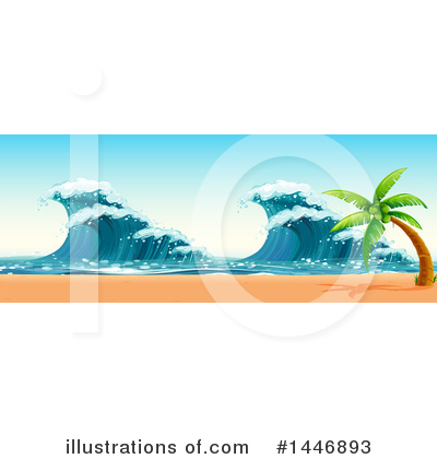 Waves Clipart #1446893 by Graphics RF