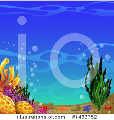 Reef Clipart #1463752 by Graphics RF