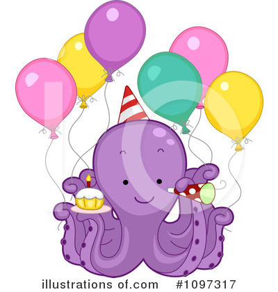 Birthday Clipart #1097317 by BNP Design Studio