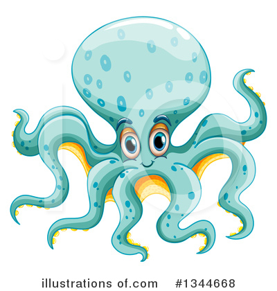 Sea Life Clipart #1344668 by Graphics RF