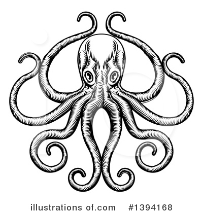 Octopus Clipart #1394168 by AtStockIllustration