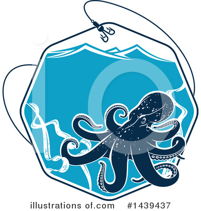 Octopus Clipart #1439437 by Vector Tradition SM