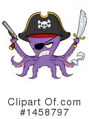 Octopus Clipart #1458797 by Hit Toon