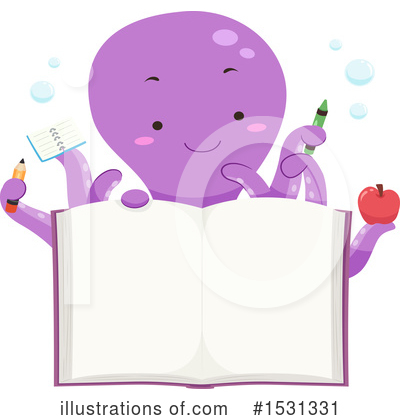 Royalty-Free (RF) Octopus Clipart Illustration by BNP Design Studio - Stock Sample #1531331