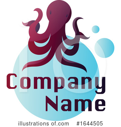 Octopus Clipart #1644505 by Morphart Creations