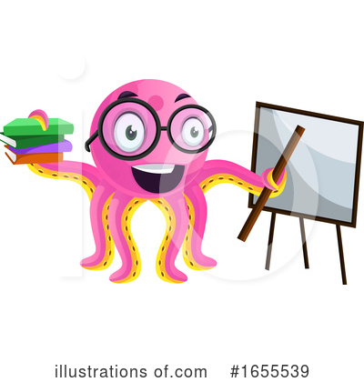 Octopus Clipart #1655539 by Morphart Creations