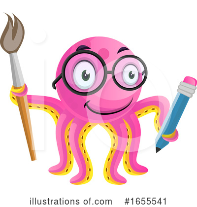 Octopus Clipart #1655541 by Morphart Creations