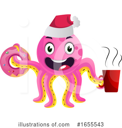 Octopus Clipart #1655543 by Morphart Creations